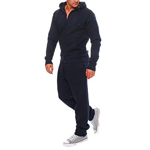 YH5 Hype Inc Herren Jogging Anzug Trainingsanzug Sweatshirt Navy Gr. 3XL