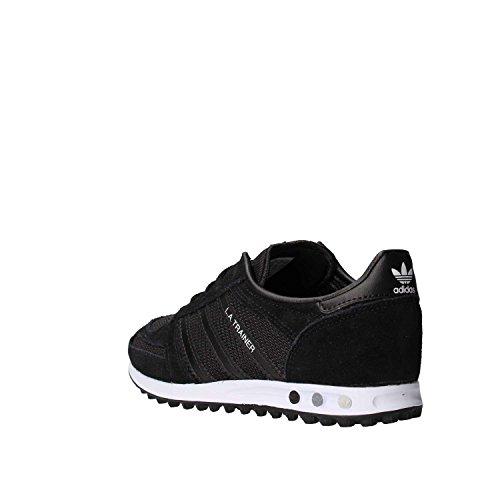 Unisex Adidas La KidsSneaker Neroblk Bambini Trainer blk Collo A Basso 7IgvfYb6y