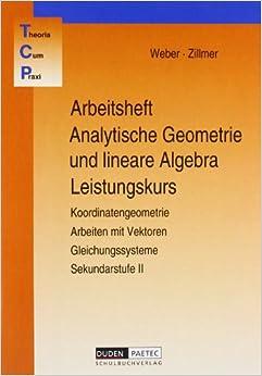Book TCP-Arbeitsheft Analytische Geometrie und Lineare Algebra. Leistungskurs.
