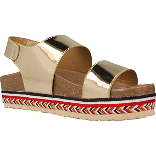 Sandalias y chanclas para mujer, color gold , marca MTNG, modelo Sandalias Y Chanclas Para Mujer MTNG 50898M Gold Gold