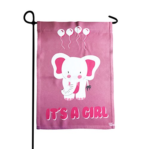 (Port North It's A Girl Double Sided Outdoor Garden Flag)