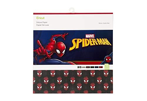 (Cricut 2004580 Spiderman Deluxe Paper, 12