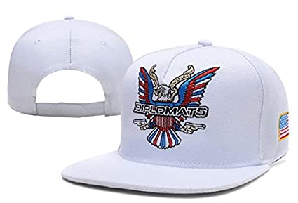 Dipset U-S-A Diplomats Eagle Logo Snapback Hat Dipset U-S-A Diplomats Eagle  Logo Cap Dipset U-S-A Diplomats 4d5071c87ab