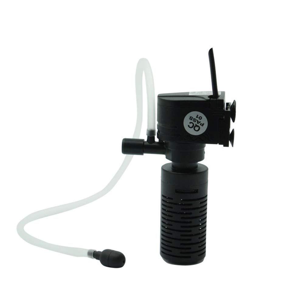 Professional Ultra Quiet 3 in 1 Aquarium Purifier Fish Tank Aquarium Filter Built Filter 3W Bucket Oxygen Pump