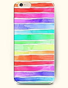 Colorful Stripes - Rainbow Color Series - Phone Cover for Apple iphone 4 4s ( inches ) - SevenArc Authentic...