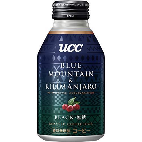 UCC BLACK무당 블루 마운틴&킬리만자로 브랜드 캔커피 275g ×24개