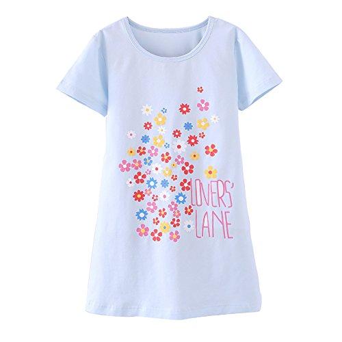 Zegoo Girls Fancy Cute Cotton Summer Pajamas