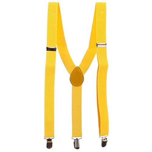 Fashion Suspender - Yellow OSFM