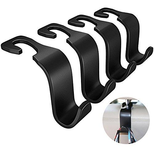Advgears B-Black One Size Seat Hook Back Vehicle Universal C