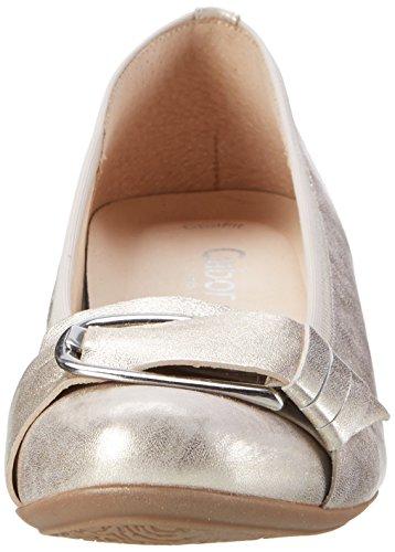 63 Platino Escarpins Shoes Femme Gabor Argent Comfort fvYqwxB