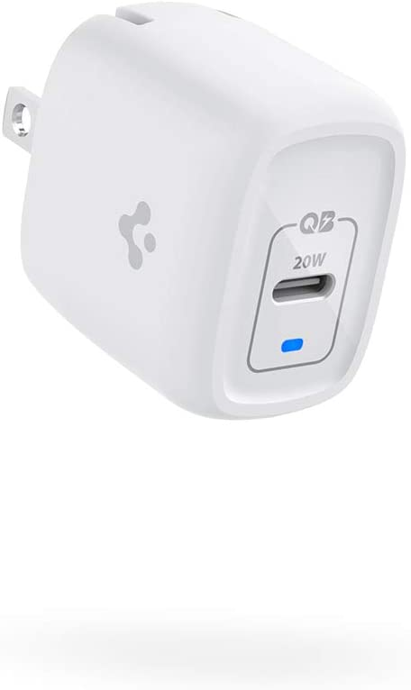 PowerArc Super Mini iPhone 12 Charger 20W GaN PD Type C Fast Charger USB C Wall Adapter Foldable Plug Power Delivery Compatible with iPhone 12 Pro Max 12 Mini 11 SE 2020 X XR XS 8 iPad Air AirPods Pro