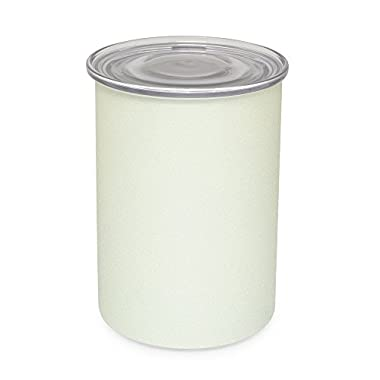 Coffee Storage Canister - Airtight Container Preserves Food Freshness - AirScape Steel - 64 fl. oz - Pearl