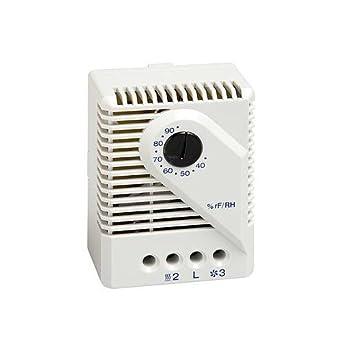 Stego 01220.0-00 Modelo MFR 012 Higrostato Mecánico, Contacto Inversor, 35 a 95