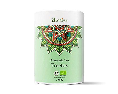 Bio Detox Tee (Idealer Entschlackungstee für Diäten, Fasten- und Entgiftungskuren | 150g in praktischer Aromaschutzdose)