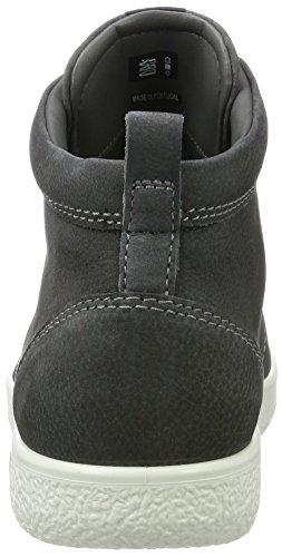 ECCO Dark Men's Collo 1 Soft a Shadow Uomo Sneaker Grigio Alto T1ArTzq