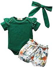 Toddler Girls Clothes Kids Fall Outfits Stripe Long Sleeve Sweatshirt Ruffle Suspender Dress Outfits Skirt Set