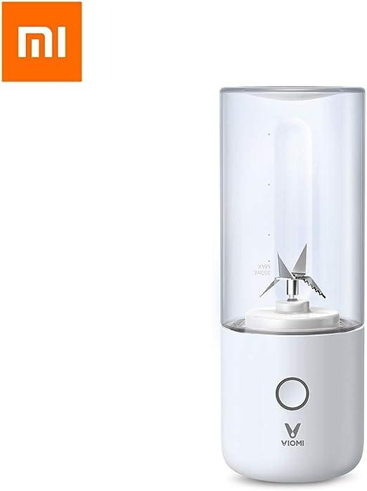 Dewanxin para Mijia Licuadora Portátil, USB Recargable, 350ml ...