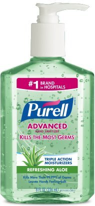 Price comparison product image Purell Adv Aloe 8oz Pump (2 Pack)