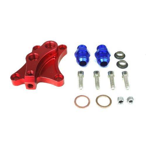 Details About Sr20det Turbo Sr20 Sil80 Silvia S13 S14 S15 200sx Oil Block Off Adaptor for Oil Cooler