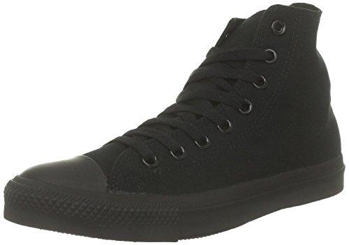 Converse Hi Black Monochrome Unisex Canvas Ankle Trainers M3310-12