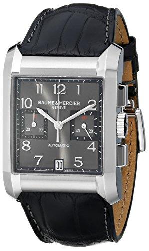 baume-mercier-mens-10030-hampton-mens-black-leather-strap-chronograph-watch