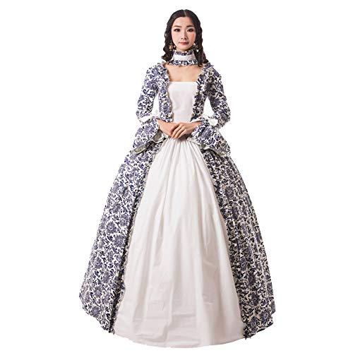 Medieval Queen Clothing - CountryWomen Medieval Renaissance Queen Arwen Christmas