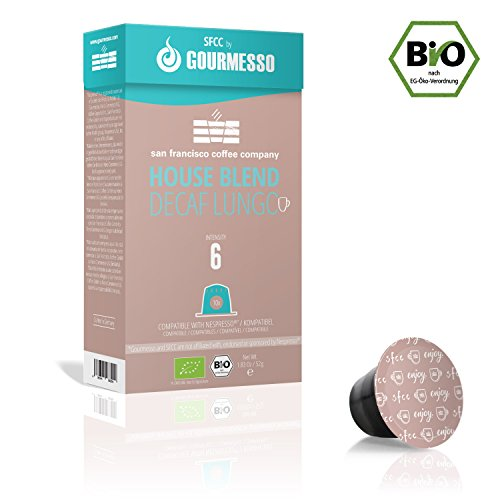 Gourmesso Lungo Arabica Forte - 10 Coffee Capsules for Nespresso Machines - Fair Trade: Amazon.com: Grocery & Gourmet Food