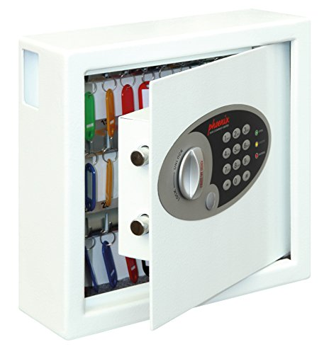 Phoenix Cygnus Key Deposit Safe with Electronic Lock (30 Hooks)