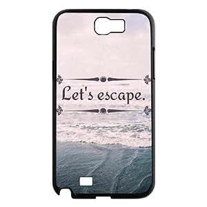 Let's Escape Design Unique Customized Hard Samsung Galaxy S5 I9600/G9006/G9008 , Let's Escape Samsung Galaxy S5 I9600/G9006/G9008 Case