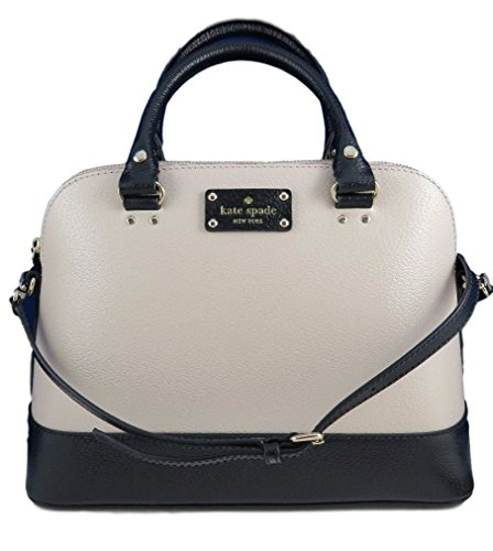 Kate Spade Wellesley Small Rachelle Satchel Handbag Shoulder Bag (pebble/black) Kate Spade New York Wkru2485