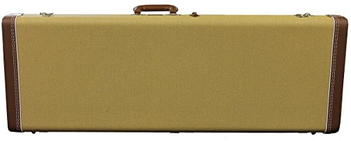 Fender G&G 7703592000 Strat Tele Multi Fit Deluxe Hardshell Case 60TH Anniversary Tweed Hardshell Case w/ Red Lining (Fender Strat Case Tweed compare prices)