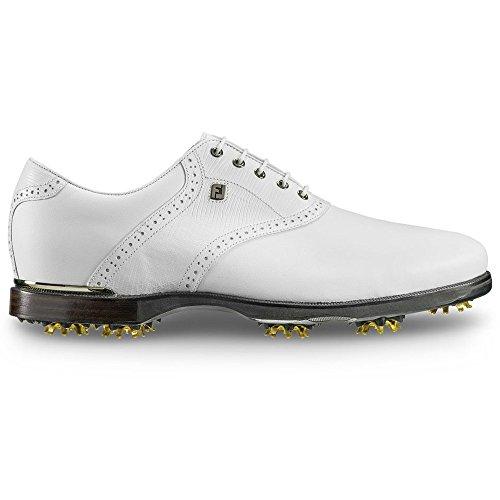Footjoy Icon Nero Sella Golf Scarpe Bianco / Bianco-w