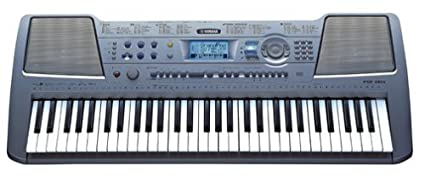Yamaha PSR-290AD 61-Note Touch-Sensitive Portable Electronic Keyboard with  AC Adapter