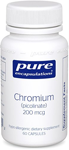 Pure Encapsulations Picolinate Hypoallergenic Metabolism