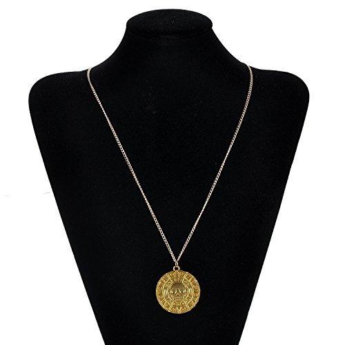 Fluch Der Karibik Filmen Cursed Azteken Halskette Medaillon Münze