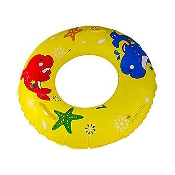 Bestdayever Flotador Hinchable para Piscina - Juguete para Adultos y Niños, amarillo: Amazon.es: Deportes y aire libre