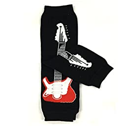 Allydrew 4 Pack Leg Warmers In Various Styles For Babies And Toddlers, Guitar, Race Flag, Skull, Galaxy