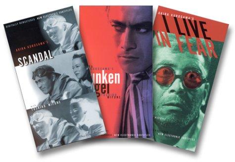 Rare Kurosawa (Drunken Angel/ Scandal/ I Live In Fear) [VHS]