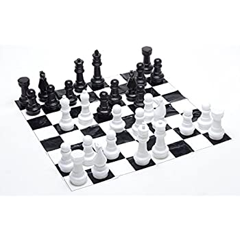 70%OFF Kettler Giant Chess Pieces Complete Set With 25 Inches Tall King    White