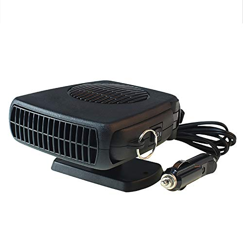 GJQASW Car heater, 12V heater car heating heater car defrosting in addition to fogifier electric heater fan hot and cold dual-use four seasons universal: Kitchen & Home