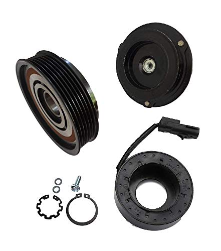 2012 Dodge Charger 8 CYL 6.4L 10SRE18C AC A//C Compressor Clutch Kit PULLEY, BEARING, COIL, PLATE