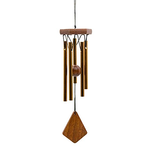 Outdoor or Indoor Wind Chimes, Metal Wind Chime Tubes are Tuned to the Opening Musical Notes of Amazing Grace to Produce Soothing Music in Memory of Favorite People and Places by Woodstock Chimes