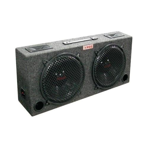 Xxx kic120 (2) Dual 12 Car Audio Subwoofer Sub Box W/ 5 Tweeters