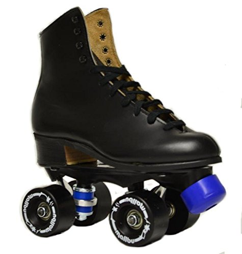 Riedell Black Magic Kids Roller Skates (4) by Riedell