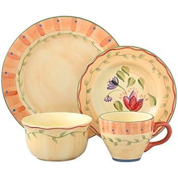 Amazon.com | Pfaltzgraff Napoli Dinnerware Set (32-Piece ...