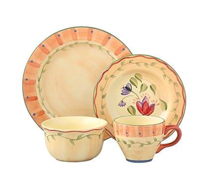 Pfaltzgraff Napoli Dinnerware Set (48-Piece)  sc 1 st  Amazon.com & Amazon.com | Pfaltzgraff Napoli Dinnerware Set (48-Piece ...