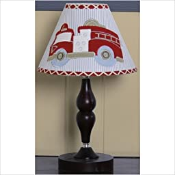 GEENNY Lamp Shade, Fire Truck