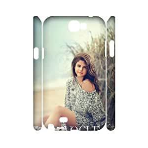 ANCASE Selena Gomez Customized Hard 3D Case For Samsung Galaxy Note 2 N7100