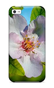 CagleRaymondy Snap On Hard Case Cover Almond Flower Protector For Iphone 5c