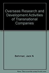 Overseas Research and Development Activities of Transnational Companies